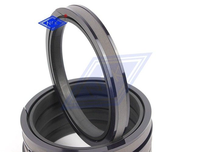 SPGW Bronze Filled Ptfe Piston Seal / High Pressure Hydraulic Piston Rings